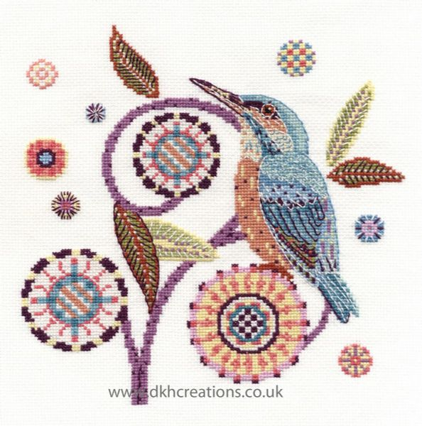 River Visitor Cross Stitch Kit